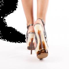 Sandale dama Nana negre, 39