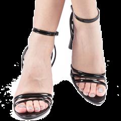 Sandale dama Tania negre, 36