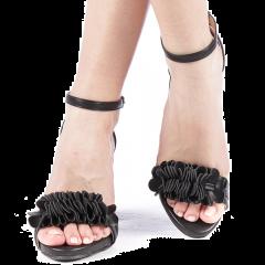 Sandale dama Beky negre, 37