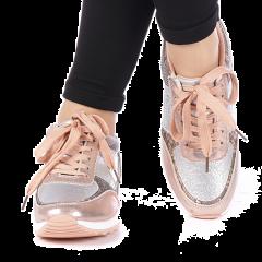 Pantofi sport dama Dorana roz, 40