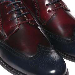 Pantofi barbati Cloven albastri, 42