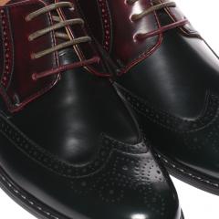 Pantofi barbati Cloven verzi, 43