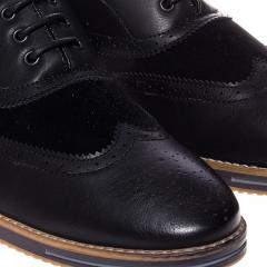 Pantofi barbati Mariko negri, 44