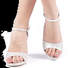 Sandale dama Sandesyn argintii, 41