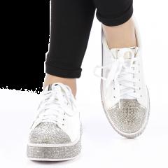 Pantofi sport dama Zilla albi, 40