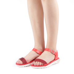 Sandale dama Sorina rosii, 36