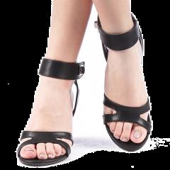 Sandale dama Alinos negre, 38