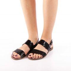 Sandale dama Kavindra negre, 36