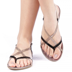 Sandale dama Glapy negre, 36