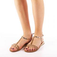 Sandale dama Mahari aurii, 41