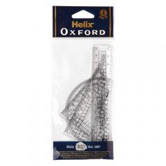 Set geometrie Helix Oxford 15 cm, 4 piese