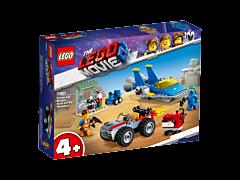 """LEGO Movie Atelierul """"Construieste şi repara!"""" al lui Emmet si Benny 70821"""