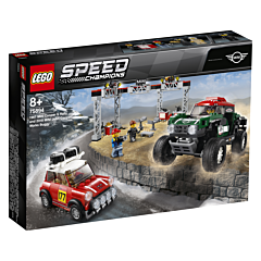 LEGO Speed Champions 1967 Mini Cooper S Rally si automobil sport 2018 MINI John Cooper Works 75894