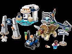 LEGO Jurasic World Triceratops dezlantuit 75937