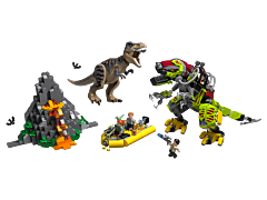 LEGO Jurasic World Lupta T.Rex vs Dino 75938
