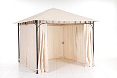 Pavilion metalic 3x3m, bej