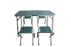 Set picnic masa cu 4 scaune