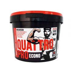 Supliment de proteine Megabol Quattro Pro Econo 1800g, complex de proteine, carbohidrati, vitamine