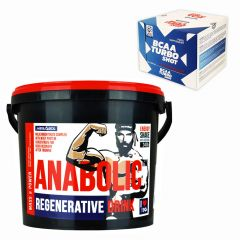 Pachet Megabol Quick Recovery, 2 produse, proteine, carbohidrati, creatina si aminoacizi