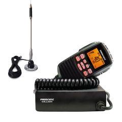 Pachet statie radio CB President William ASC + antena CB Bytrex MiniPlus