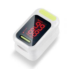 Pulsoximetru RedLine FS5C, alb, indica nivelul de saturatie a oxigenului, masoara rata pulsului