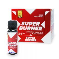 Concentrat pe baza de carnitina Megabol Super Burner 16x50 ml, pentru arderea grasimilor