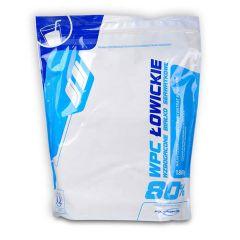 Supliment de proteine Megabol WPC 77% Łowickie Instant 1800 g, aminoacizi BCCA, glutamina si vitamine pentru cresterea masei musculare