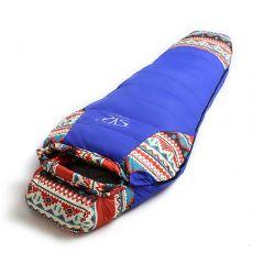 Sac de dormit Apache Waterproof - Windproof, -20°C,  Albastru