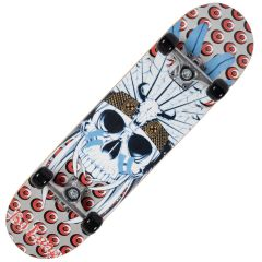 Skateboard Action ABEC-5, Aluminiu, 80 cm Saman