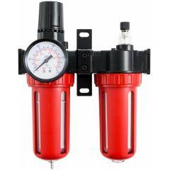 """Reductor cu filtru de apa si ulei, pneumatice 1/2"""" VERKE V81232"""