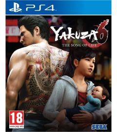 Joc Yakuza 6 the song of life - ps4