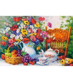 Puzzle Castorland 1000 Barbara Mock : Time for Tea
