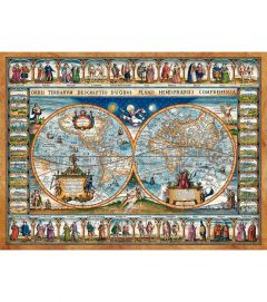 Puzzle Castorland 2000 Harta istorica