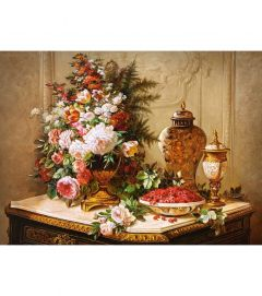 Puzzle Castorland - 3000 de piese - Tulips and other flowers