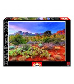PUZZLE EDUCA 4000 piese Twilight in The Red Rock Arizona USA