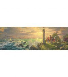Puzzle Schmidt - 1000 de piese - THOMAS KINKADE : LIGHTHOUSE