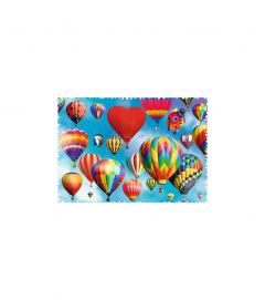 Puzzle Trefl - Crazy Shapes - Colorful Balloons 600 piese