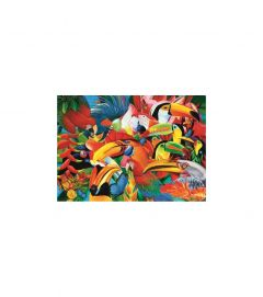 Puzzle Trefl - Colorful Birds 500 piese