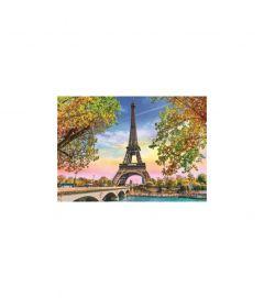 Puzzle Trefl - Romantic Paris 500 piese