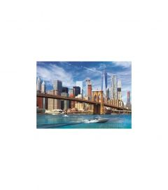 Puzzle Trefl - View of New York 500 piese