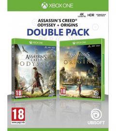 Joc Compilation Assassins Creed Odyssey & Assassins Creed Origins - Xbox One