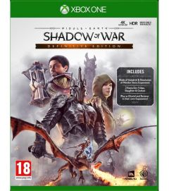 Joc Middle Earth shadow of war definitive edition - xbox one