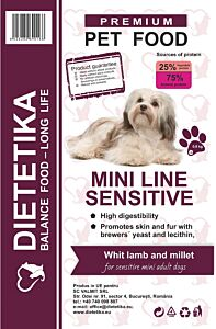 Dietetika Mini Sensitive 0.8 kg