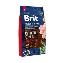 Hrana uscata pentru caini Brit Premium, Adult L, 8 Kg