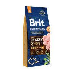 Hrana uscata pentru caini Brit Premium, Adult M, 15 Kg