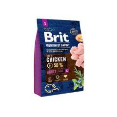Hrana uscata pentru caini Brit Premium, Adult S, 3 Kg
