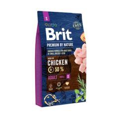 Hrana uscata pentru caini Brit Premium, Adult S, 8 Kg
