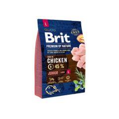 Hrana uscata pentru caini Brit Premium, Junior L, 3 Kg