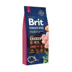 Hrana uscata pentru caini Brit Premium, Junior L, 15 Kg