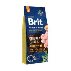 Hrana uscata pentru caini Brit Premium, Junior M, 15 Kg